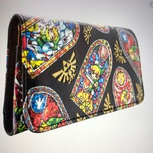 Legend of Zelda WindWaker Stained Glass Wallet
